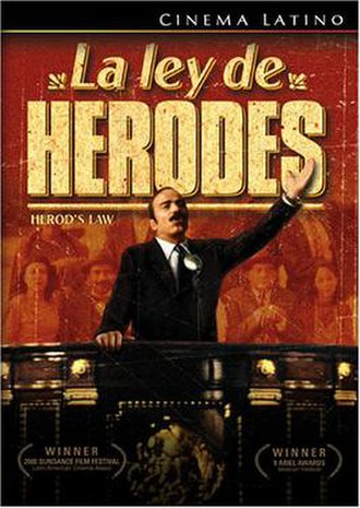 Herod's Law - DVD cover