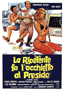 <i>La ripetente fa locchietto al preside</i> 1980 film by Mariano Laurenti