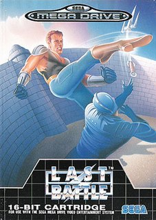 <i>Last Battle</i> (video game) 1989 video game