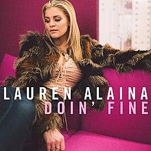 Resultado de imagem para doin' fine lauren alaina single