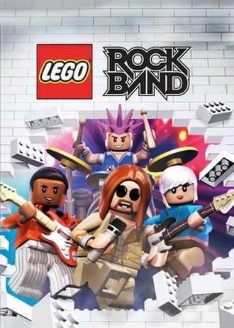 Lego Rock Band - Cover art for Lego Rock Band