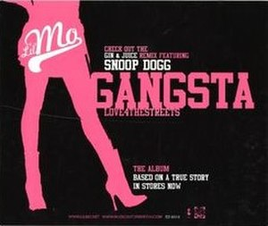 Gangsta (Love 4 the Streets) - Image: Lil' Mo Gangsta (Love 4 the Streets)