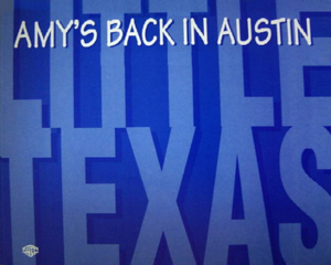 Amy's Back in Austin - Image: Little Texas Amy single
