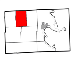 Location of Long Rapids Twp. within Alpena County