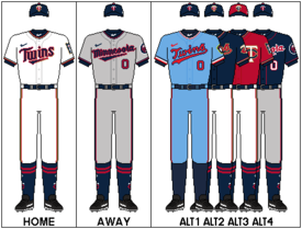 sports shoes 61562 0280d Minnesota Twins - Wikipedia