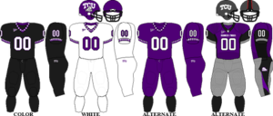 2009 TCU Horned Frogs football team - Image: MWC Uniform TCU 2009