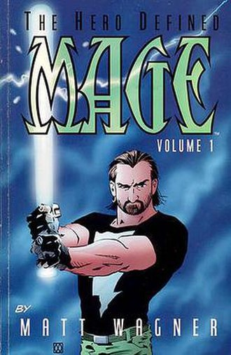 Matt Wagner - Mage: The Hero Defined, cover by Matt Wagner.