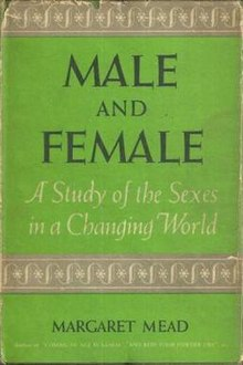 Image result for male and female book by margaret mead