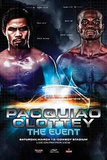 Manny Pacquiao vs. Joshua Clottey Boxing competition