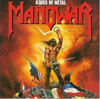 Kings of Metal - Image: Manowar kingsofmetalsalbumco ver