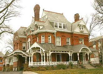 Old West End District (Toledo, Ohio) - Mansion View Inn