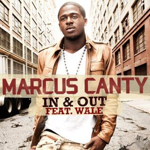 In & Out (Marcus Canty song) - Image: Marcus Canty, In & Out single cover