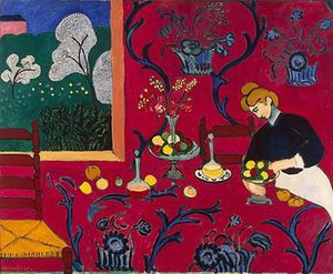Matisse The Red Room Print