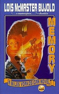 <i>Memory</i> (Bujold novel) novel by Lois McMaster Bujold