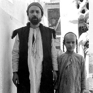 Jewish religious clothing - Traditional Jewish attire in Yemen