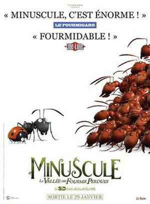 Minuscule: Valley of the Lost Ants - Film poster