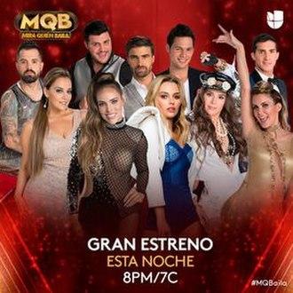 Mira quién baila (season 6) - Image: Mira quién baila season 6 poster