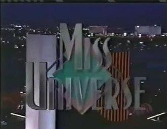 Miss Universe 1991 - Miss Universe 1991 Titlecard
