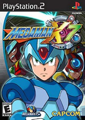 Mega Man X7 - PS2 Cover art