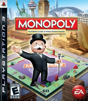 Monopoly video games - PlayStation 3 version cover art