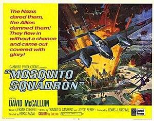 Mosquito Squadron - Theatrical poster