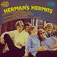 The Most of Herman's Hermits album cover