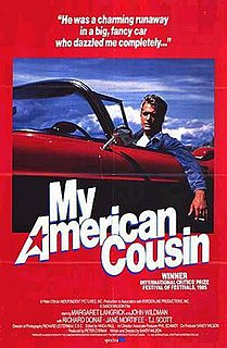 <i>My American Cousin</i> 1985 film by Sandy Wilson