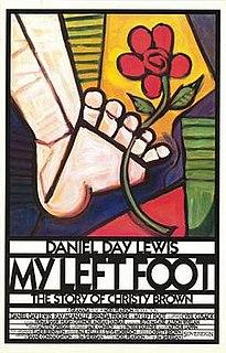 <i>My Left Foot</i> 1989 Irish drama film directed by Jim Sheridan