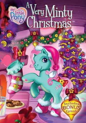 My Little Pony: A Very Minty Christmas - DVD Cover for My Little Pony: A Very Minty Christmas