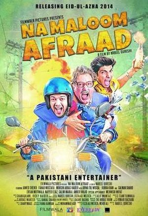 Na Maloom Afraad - Theatrical release poster
