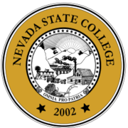 Seal of Nevada State College.