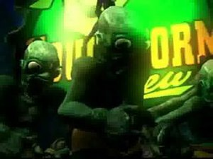Oddworld: Abe's Exoddus - Abe's friends retaliating against him, before they get sick.