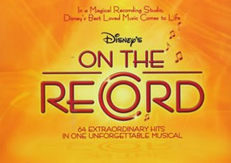 On the Record (musical) - Original US touring logo