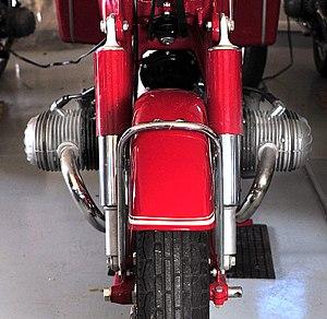 Flat twin engine - Flat twin engine on a 1967 BMW