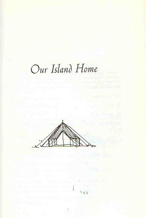 Our Island Home - Drawing from script of Our Island Home