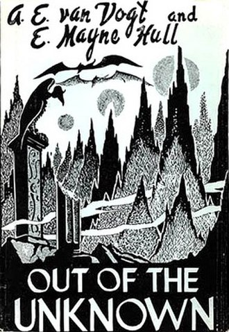 Out of the Unknown (collection) - Dust-jacket of the first edition