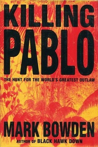 Killing Pablo - Image: Pabloescobook