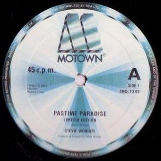 Pastime Paradise - Image: Pastime Paradise