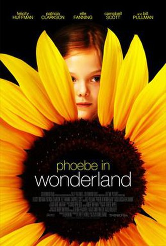 Phoebe in Wonderland - Theatrical release poster