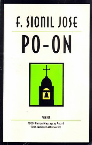 Po-on - Book cover for F. Sionil José's Po-on A Novel.