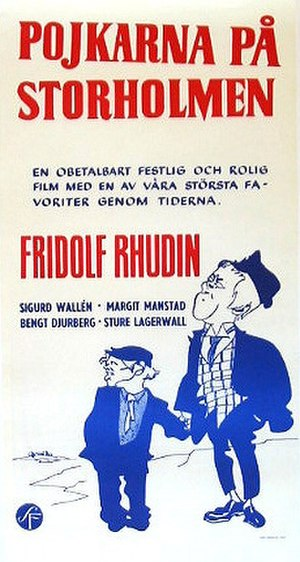 The Storholmen Brothers - Official movie poster of 1932