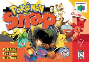Pokémon Snap - North American Nintendo 64 cover art
