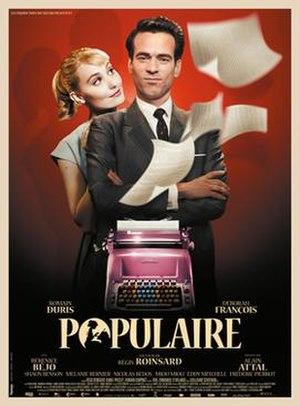Populaire (film) - Film poster