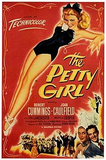 <i>The Petty Girl</i> 1950 film by Henry Levin