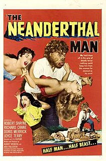 <i>The Neanderthal Man</i> 1953 film by Ewald André Dupont