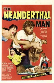 Poster of the movie The Neanderthal Man.jpg