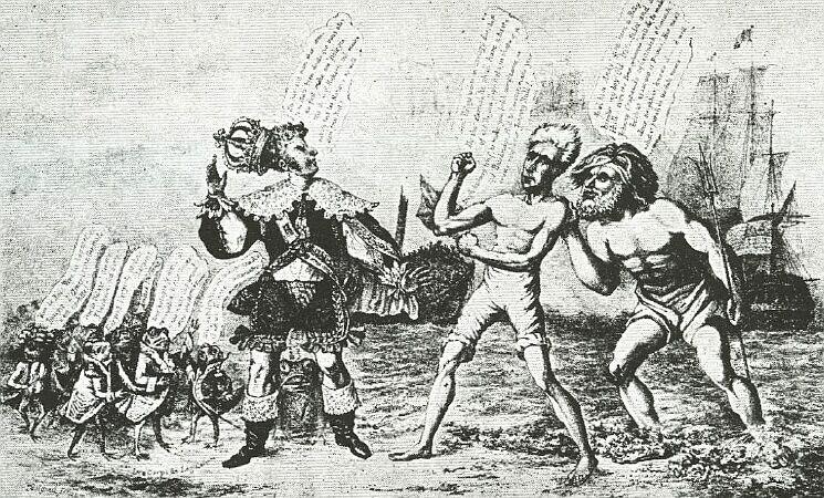President Andrew Jackson fights France