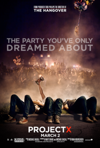 Project X (2012 film) - Theatrical release poster