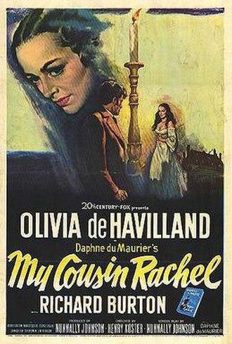 My Cousin Rachel (1952 film) - Original film poster