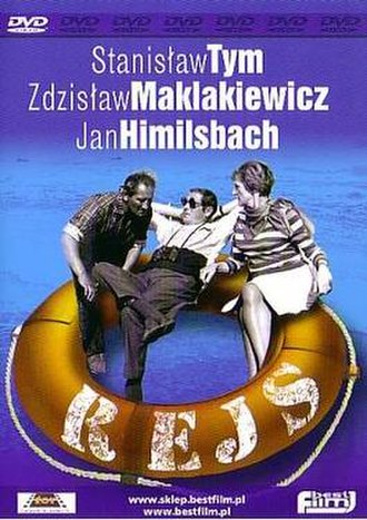 The Cruise (1970 film) - DVD cover of a recent Polish movie edition